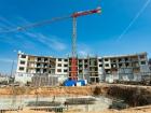 Ход строительства дома № 3 в ЖК Ватсон - фото 38, Май 2020